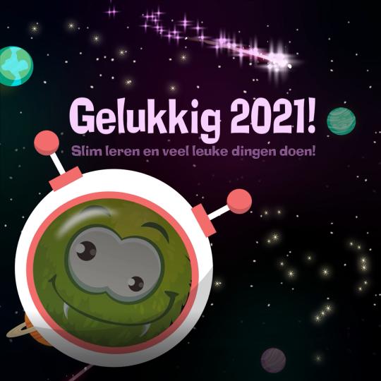 Gelukkig 2021!